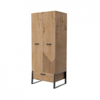Шкаф для одежды Оскар ИД 01.358