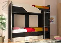 Двухъярусная кровать Мийа венге