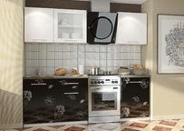 Кухонный с фотопечатью гарнитур Полонез