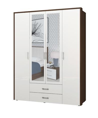 Шкаф 4х дверный Моника-1 ИД 01.127