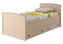 Кровать с настилом Pink ИД 01.94