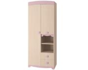 Шкаф для одежды Pink ИД 01.140А