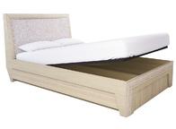 Кровать с подъёмным механизмом 14ПМ Калипсо туя светлая