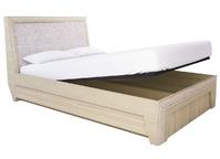 Кровать с подъёмным механизмом 16ПМ Калипсо туя светлая