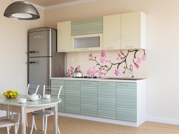 Кухня Модерн Ваниль 2000 мм