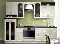 Кухонный белый гарнитур Кантри 2800