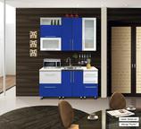 Синий кухонный гарнитур Мыло 1600