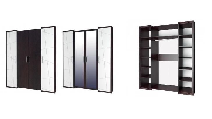 Шкаф для одежды Барселона МН-115-04