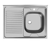 Мойка Юкинокс Стандарт STD800.600 - 5С накладная (правая, левая)