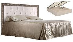 Кровать 2-х спальная с мягким элементом и подъёмным механизмом 1800 Тиффани