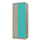Шкаф для одежды Сити аква