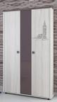 Шкаф 3-х дверный Хэппи ИД 01.359