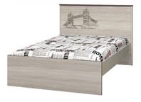 Кровать 1200 с настилом Хэппи ИД 01.254