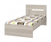 Кровать 900 с настилом Хэппи ИД 01.245а