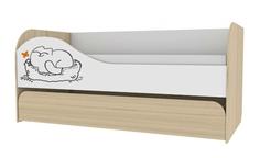 Кровать двухуровневая 900-1 Кот