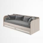 Кровать с ящиками модуль 23