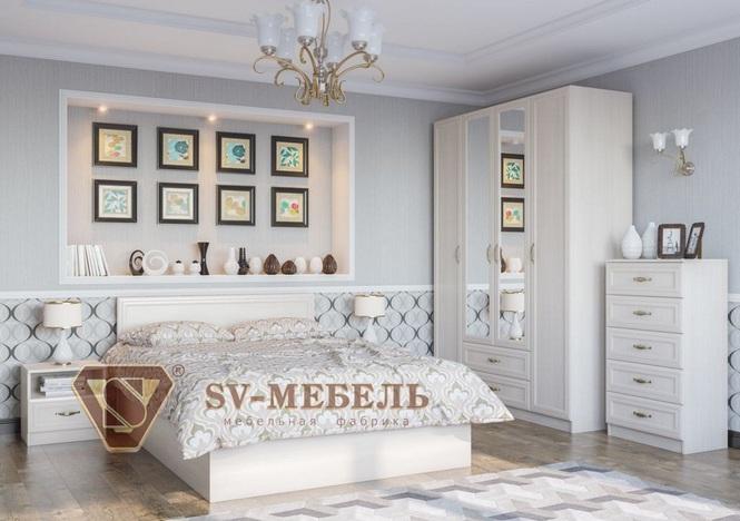 Спальный гарнитур Вега SV сосна