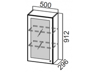 Шкаф навесной со стеклом Ш500с/912 Прованс