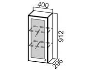 Шкаф навесной со стеклом Ш400с/912 Прованс