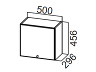 Шкаф навесной горизонтальный ШГ500/456 Прованс