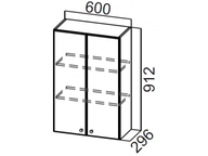 Шкаф навесной Ш600/912 Классика