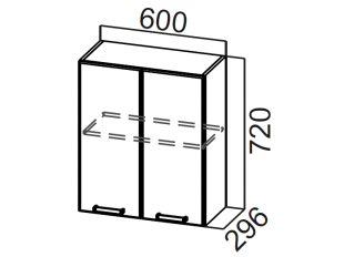 Шкаф навесной Ш600 Модус