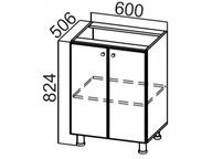 Стол рабочий С600 Модус