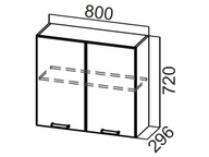 Шкаф навесной Ш800 Волна