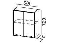 Шкаф навесной Ш600 Волна