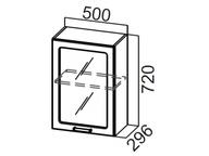 Шкаф навесной (со стеклом) Ш500с Прованс