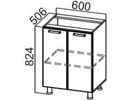 Стол рабочий С600 Волна