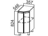 Стол рабочий торцевой С400т Модерн