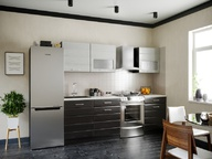 Кухня Венеция Дым Венге 1500