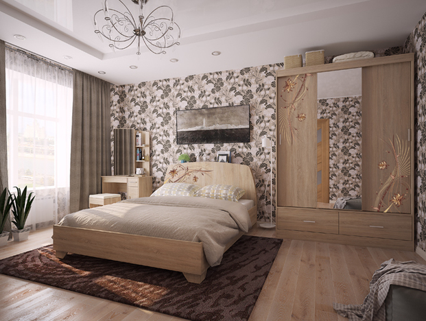 Спальный гарнитур Виктория-1