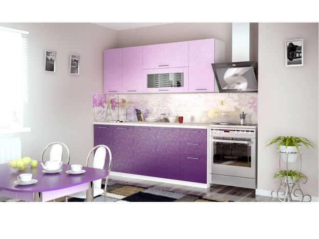 Кухня Магнолия Ирис 1800