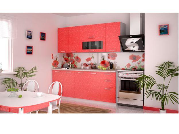 Кухня Магнолия Коралл 1800