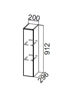 Шкаф навесной Ш200/912 Модус