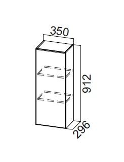Шкаф навесной Ш350/912 Модус