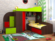 Кровать-чердак Кадет 2
