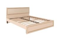 Кровать с ортопедическим основанием и мягкой спинкой М10 Беатрис