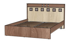 Кровать 2-х спальная 1600 Коста-Рика