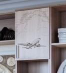 Створка пенала с рисунком «Самолет»