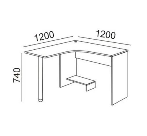 Стол угловой модуль 12 Остин