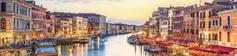 Панель стеновая с фотопечатью Город на воде 2800х670х3