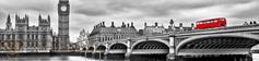 Панель стеновая с фотопечатью Мост 2800х670х3
