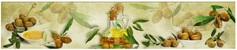 Панель стеновая с фотопечатью Оливки 2800х670х3