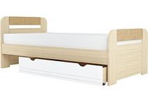 Кровать 900 х 2000 мм 900-3 Стиль Кофе