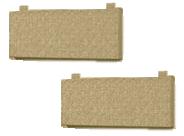 Комплект подушек для кровати 900-4 Стиль Кофе