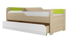 Кровать двухуровневая 900-1 Стиль Лайм