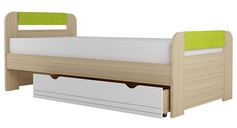 Кровать 900 х 2000 мм 900-3 Стиль Лайм